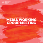 Media Working Group September 13th Meeting